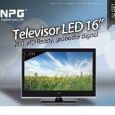 Led Tv Npg 16 Nl 1666s Tdt Hdmi Usb Grabador Vga