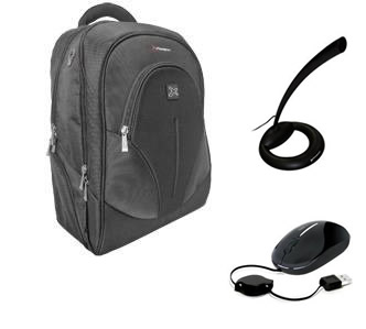 Kit Maletin Phoenix Phandbag   Mouse Phoenix Phm1015 Usb