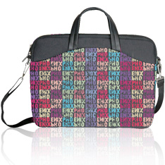 Maletin Portatil Laptop Phoenix Amara Para Mujer  Hasta 16 Logo Color