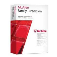 Mcafee Family Protection 3 Usuarios 2012