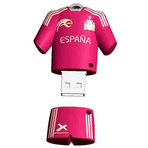 Memoria Usb Jetflash Phoenix 16gb Muneco Llavero Seleccion Espanola Serie Especial Spanish National Team World Cup Brasil 2014
