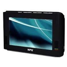 Mini Tv Portatil 7 Npg Sintonizador Tdt   Reproductor Multimedia