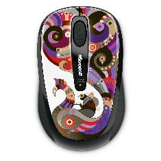 Mouse Microsoft Wireless Mobile 3500 Artist Edition Chamarelli