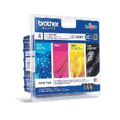 Ver MULTIPACK BROTHER LC1100VALBP 950 BK