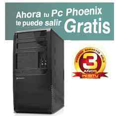Ordenador Phoenix Home Windows8 Intel G1610 Home-tr4w8001