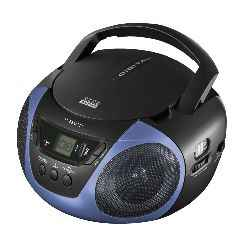 Racio Cd Mp3 Nevir Nvr 459 Azul