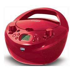 Radio Cd Mp3 Coby Mpcd291 Rojo Usb