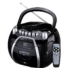 Radio Cd Mp3 Nevir Nvr-455 Con Cassette Grabador