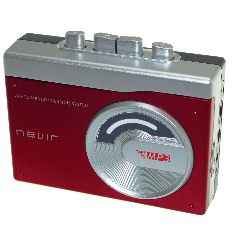 Reproductor Conversor Cassette A Mp3 Nvr 417rojo