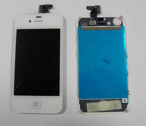 Repuesto Pantalla Lcd Touch Completa Apple Iphone 4s Blanco