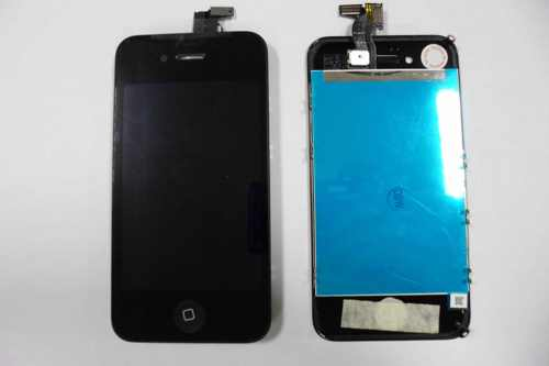Repuesto Pantalla Lcd Touch Completa Apple Iphone 4s Negro