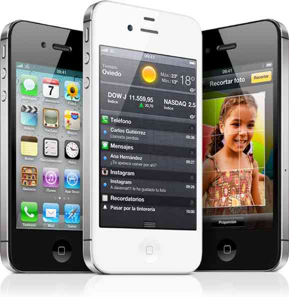 Telefono Libre Iphone 4s De Apple  16gb Blanco