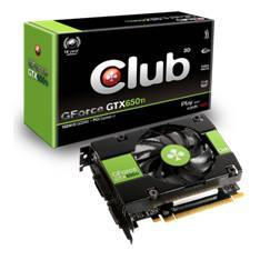 Vga Nvidia G-force Gtx 650 Ti 1gb  Gddr5  Pcie  Dvi  Hdmi  Club 3d
