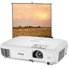Videoproyector Epson Eb-s02h   Pantalla