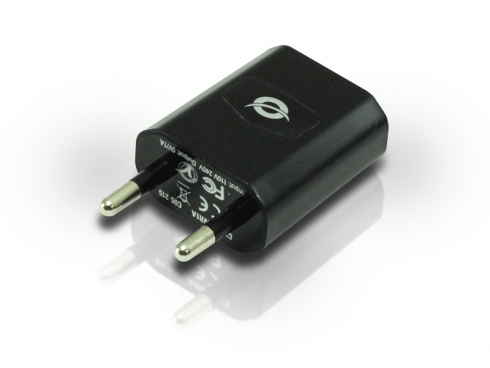 Ver CARGADOR USB DE PARED CONCEPTRONIC PARA TABLET MOVILES GPS MP3 CAMARAS ETC 1000mA 5V