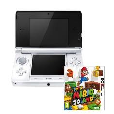Consola Nintendo 3ds Blanca   Super Mario 3d Land
