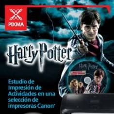 Multifuncion Canon Inyeccion Color Pixma Mg5350   Harry Potter