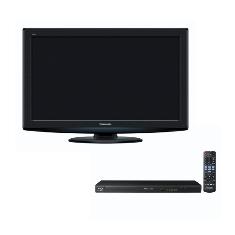 Pack Lcd Tv Panasonic 32 Viera Tx-l32s20e Dvd Blu Ray Panasonic Dmp-bd75