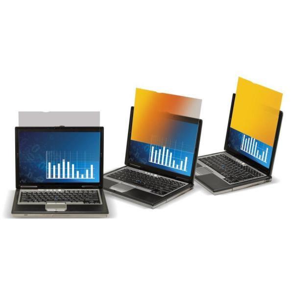 3M Filtro de privacidad Gold de para ordenadores personales con pantalla panoramica de 14