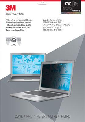 Ver 3M Filtro de privacidad de para ordenadores portatiles con pantalla panoramica de 17 0