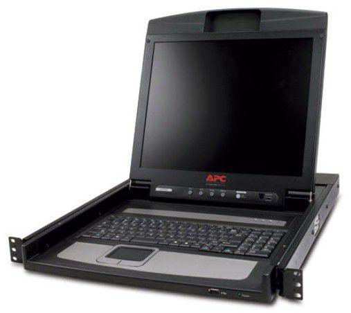 APC AP5717 17 Negro consola de rack