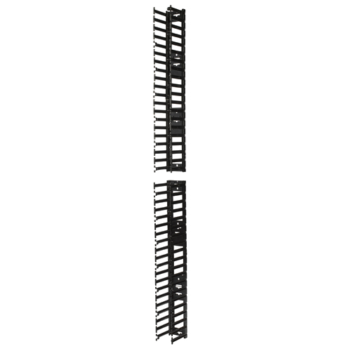 APC AR7580A Bandeja portacables recta Negro canaleta para cable