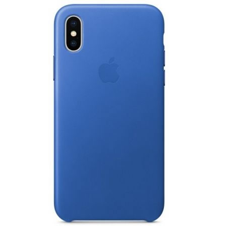 APPLE FUNDA IPHONE X LEATHER CASE AZUL ELECTRICO MRGG2ZM