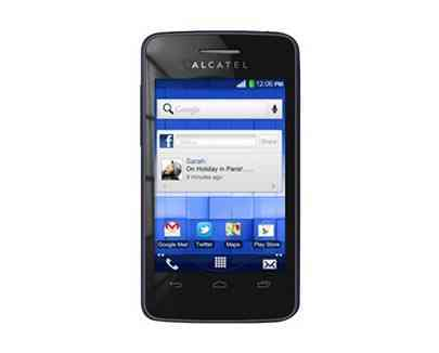Alcatel One Touch T Pop 4010x Negro