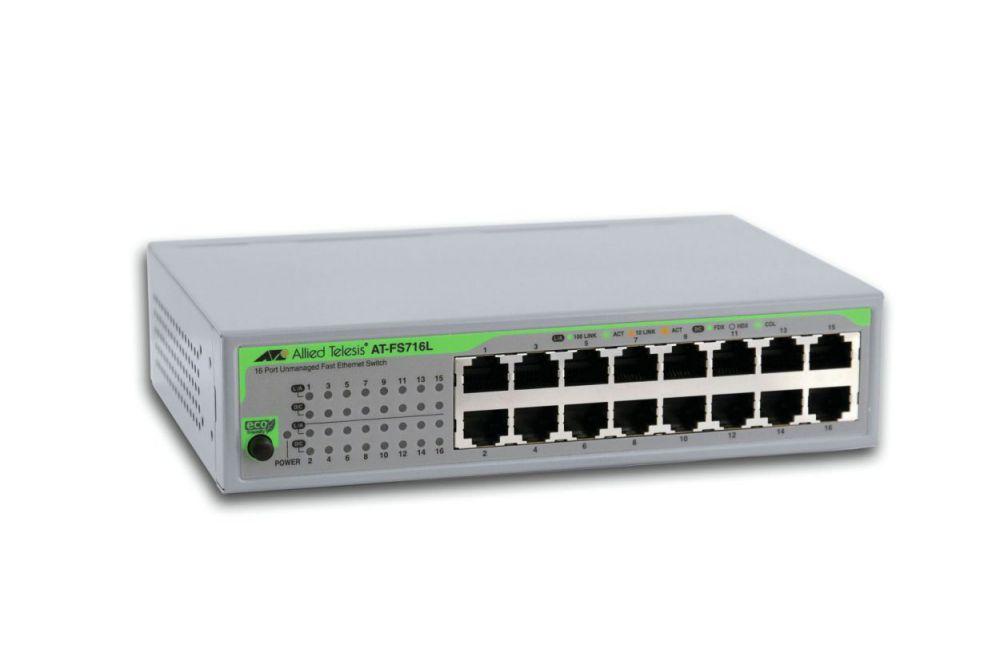 Ver Allied Telesis AT FS716L 50 No administrado