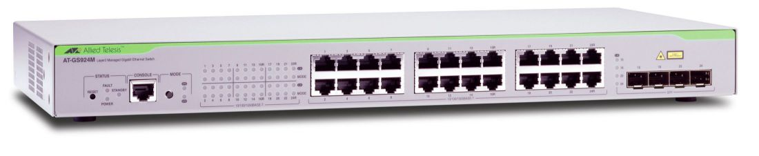 Allied Telesis At Gs924m 50 Gestionado L2 Gigabit Ethernet 10