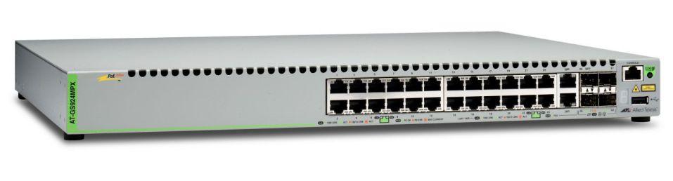 Ver Allied Telesis AT GS924MPX 50 Gestionado L2 Gigabit Ethernet 10