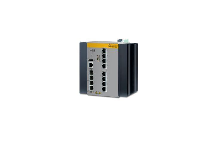 Allied Telesis AT IE300 12GP 80 Gestionado L3 Gigabit Ethernet 10