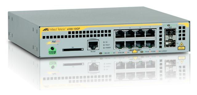 Ver Allied Telesis AT x230 10GP 50 Gestionado L2 Gigabit Ethernet 10