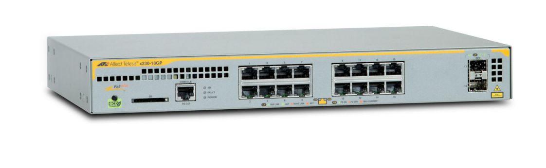 Ver Allied Telesis AT x230 18GP 50 Gestionado L2 Gigabit Ethernet 10
