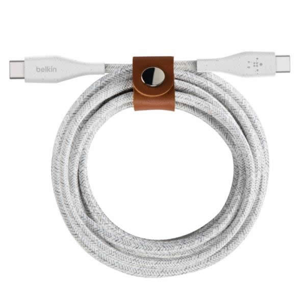 Belkin Cable USB C a USB C BLANCO