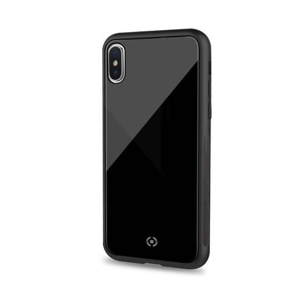 CELLY COVER DIAMOND IPHONE 6 5 XsMax 2018 NEGRA
