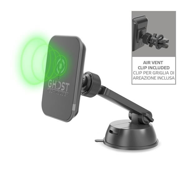 Celly Wireless Charger Magnetic Car Holder