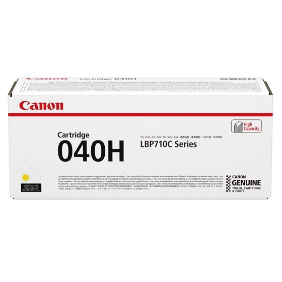 Canon 040H Cartucho Amarillo