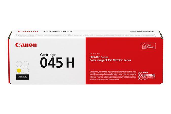 Canon 045 H Laser cartridge 2200paginas Amarillo