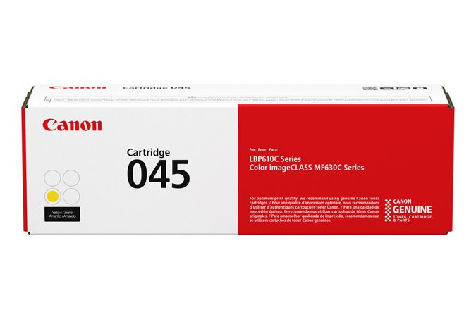Canon 045 Laser cartridge 1300paginas Amarillo