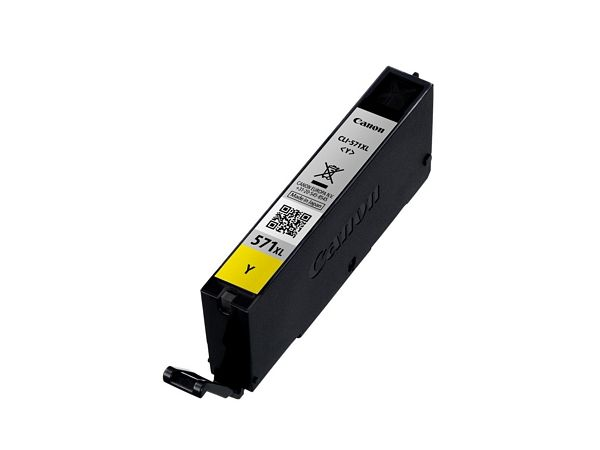 Ver Canon CLI 571Y XL 11ml 715paginas Amarillo
