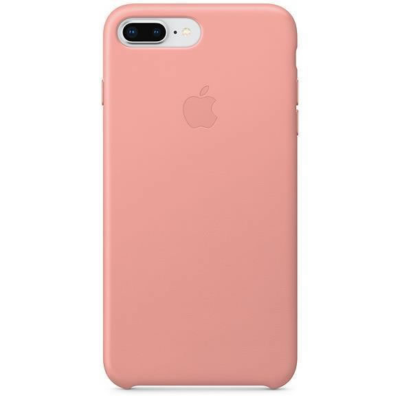 Ver Carcasa iPhone 8 Plus 7 Plus Leather Case Soft Pink