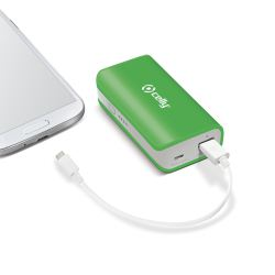 Ver Celly Li Ion 4000mAh verde