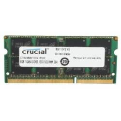 Ver Crucial 8GB DDR3 SO-DIMM 1600 MHz CT8G3S160BMCEU