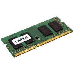 Ver Crucial 8GB DDR3 SO-DIMM 1600 MHz CT102464BF160B