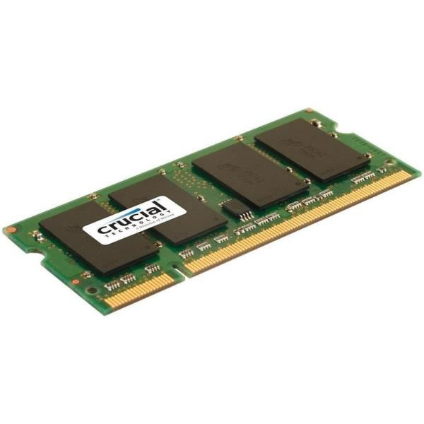 Crucial Ddr2 Pc2-5300 Dimm 2gb Ct25664aa667