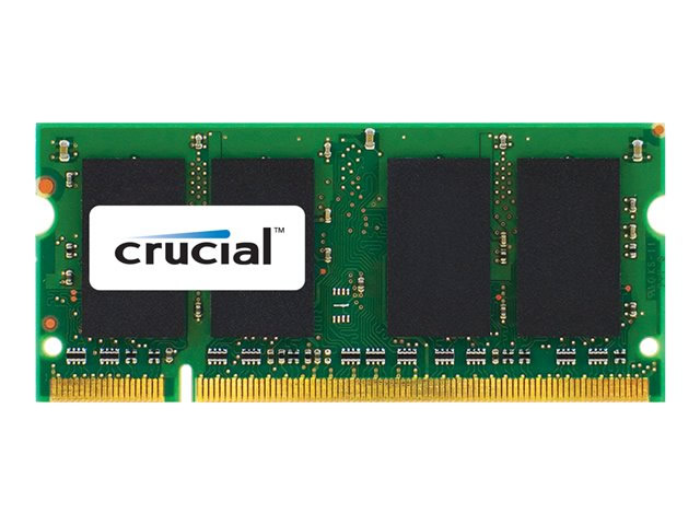 Ver Crucial memoria 2 GB SO DIMM DDR2 CT2G2S800MCEU