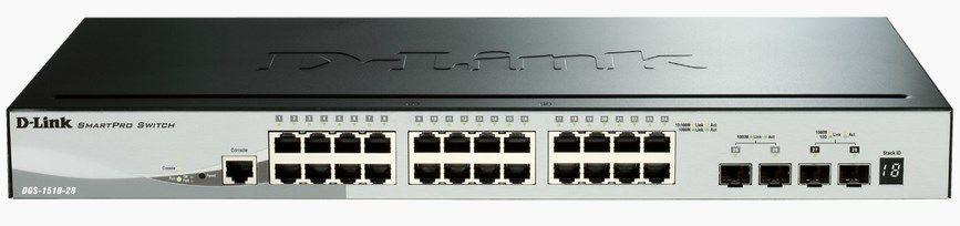 Ver D Link DGS 1510 Gestionado L3 Gigabit Ethernet 10