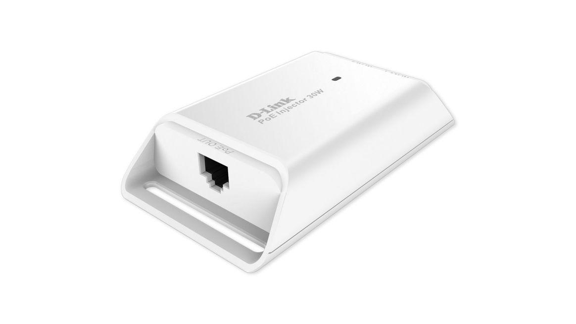 Ver D Link DPE 301GI Fast Ethernet Gigabit Ethernet adaptador e inyector de PoE