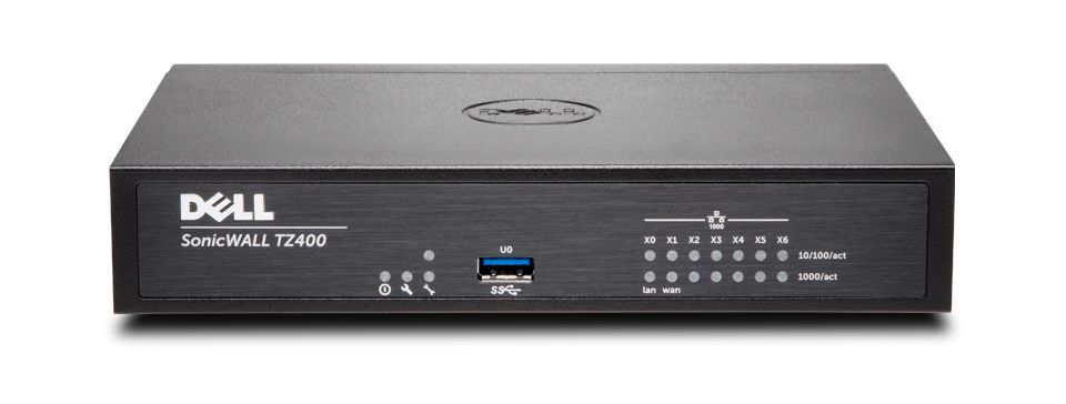 DELL SonicWALL TZ400 TotalSecure 1Y 1300Mbit